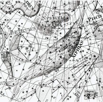 Kobberstik af stjernebillede